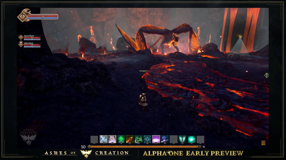Ashes of Creation Dungeon Gameplay